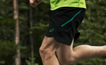 running shorts image close up