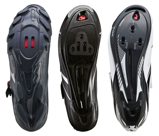 Are there different cleats for different pedals and shoes?
